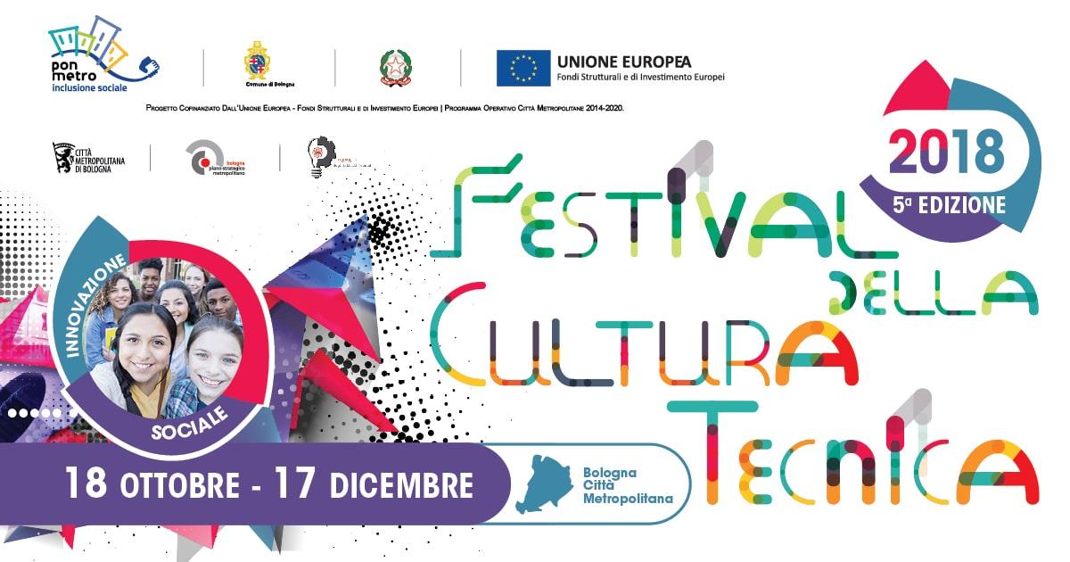 In partenza la 5a edizione del Festival della Cultura tecnica: appuntamento dal 18 ottobre al 17 dicembre