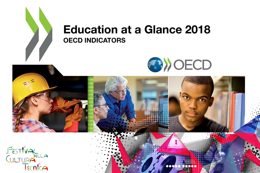 Education at a glance 2018: dall'OCSE, un rapporto sullo stato dell'istruzione in Italia