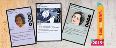 Carte da gioco ragazze STEAM