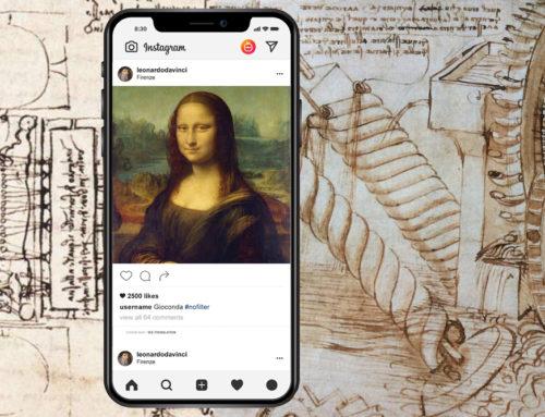 Se Leonardo Da Vinci avesse avuto Instagram