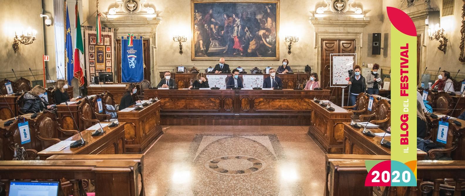 Pillole di Festival: l'Inaugurazione Regionale a Palazzo Malvezzi