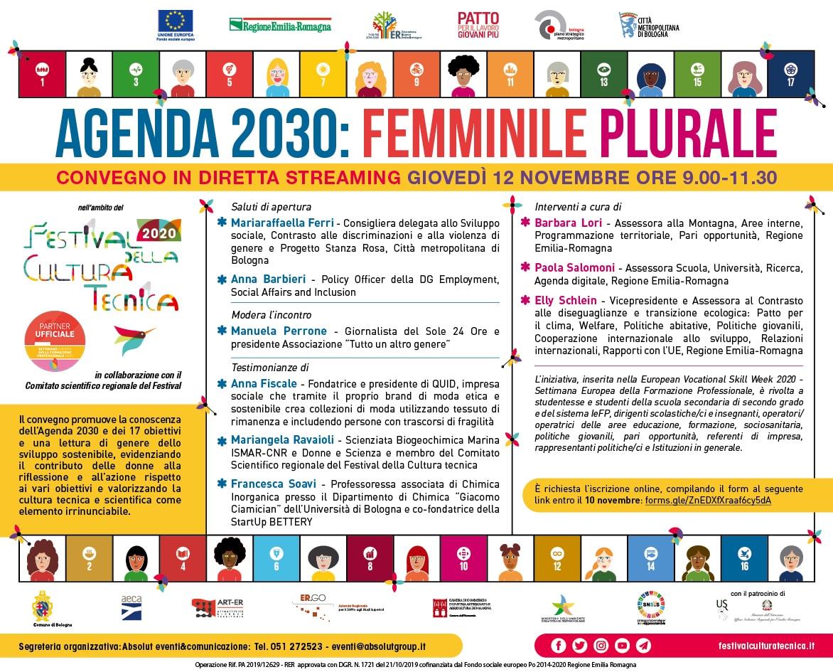Agenda 2030: Femminile Plurale