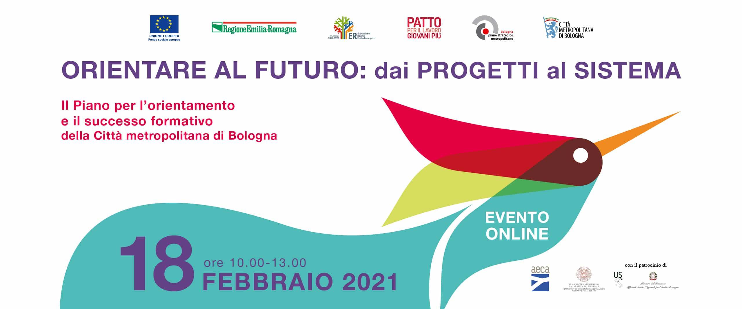 """""""Orientare al futuro: dai progetti al sistema"""" – Il Piano per l'orientamento e il successo formativo della Città metropolitana di Bologna"""
